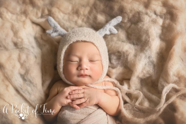 Pasadena newborn photographer baby o