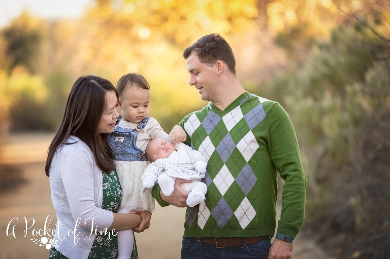 Outdoor family photography by a pocket of time photography