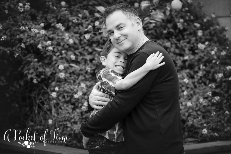 Northridge family photo by A Pocket of Time Photography