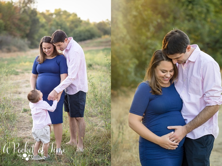 Outdoor maternity shoot by Los Angeles maternity photographer A Pocket of Time Photography