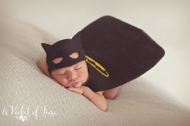 newborn photography shoot by Los Angles newborn photographer A Pocket of Time Photography.